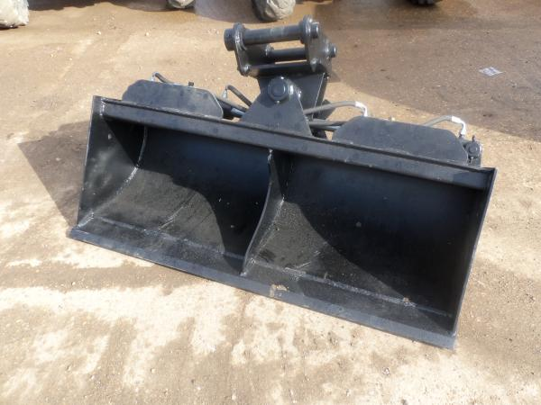HYDRAULIC TILT GRADING BUCKET TO FIT 7-8T EXCAVATOR